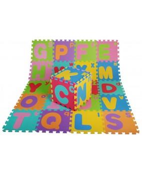 Penové puzzle EVA s veľkými a malými písmenami